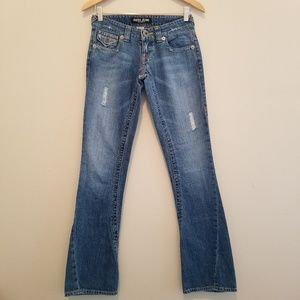 GUESS Jeans Authentic Distressed Flap Pocket